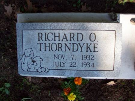 THORNDYKE, RICHARD ORVILLE - Scott County, Iowa | RICHARD ORVILLE THORNDYKE