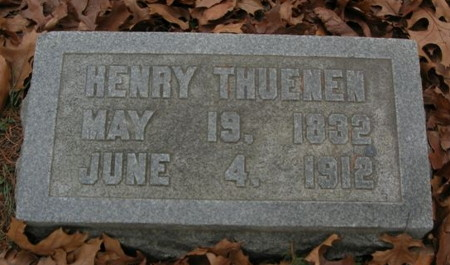 THUENEN, HENRY - Scott County, Iowa | HENRY THUENEN