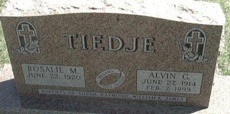 TIEDJE, ALVIN C. - Scott County, Iowa | ALVIN C. TIEDJE