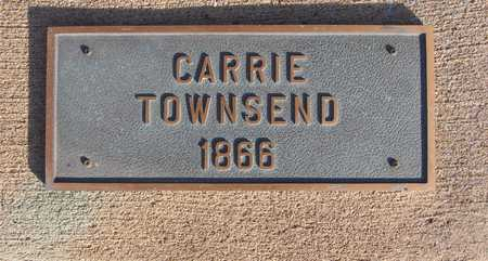 TOWNSEND, CARRIE - Scott County, Iowa | CARRIE TOWNSEND