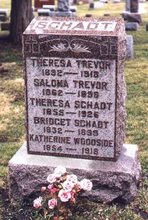 TREVOR, THERESA - Scott County, Iowa | THERESA TREVOR
