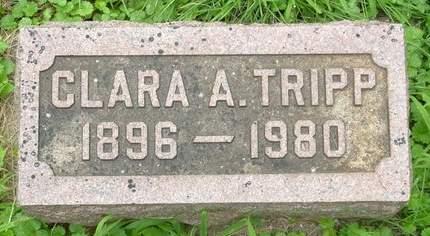 TRIPP, CLARA A. - Scott County, Iowa | CLARA A. TRIPP