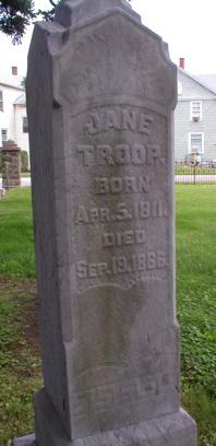 TROOP, JANE - Scott County, Iowa | JANE TROOP