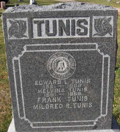 TUNIS, FRANK - Scott County, Iowa | FRANK TUNIS