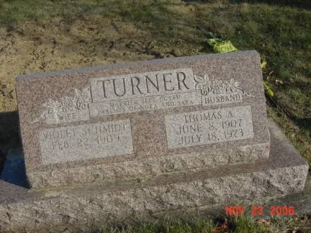 TURNER, THOMAS A - Scott County, Iowa | THOMAS A TURNER