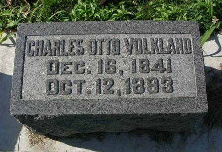 VOLKLAND, CHARLES - Scott County, Iowa | CHARLES VOLKLAND