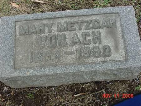 VON ACH, MARY - Scott County, Iowa | MARY VON ACH