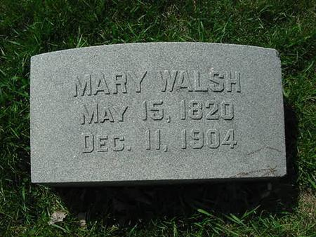 WALSH, MARY - Scott County, Iowa | MARY WALSH
