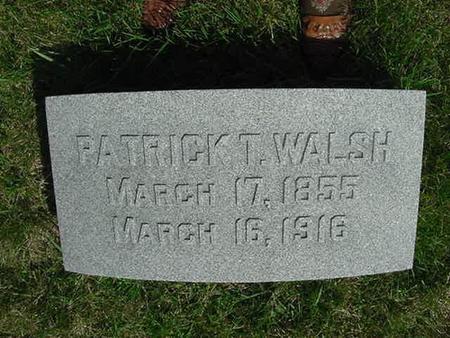 WALSH, PATRICK T - Scott County, Iowa | PATRICK T WALSH
