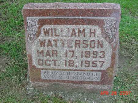 WATTERSON, WILLIAM H - Scott County, Iowa | WILLIAM H WATTERSON