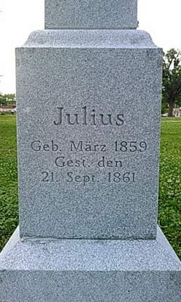 WEISS, JULIUS - Scott County, Iowa | JULIUS WEISS
