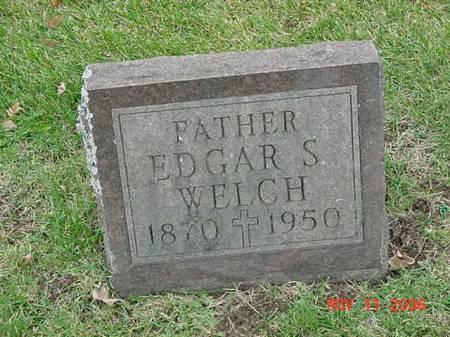 WELCH, EDGAR S - Scott County, Iowa | EDGAR S WELCH