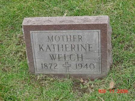 WELCH, KATHERINE - Scott County, Iowa | KATHERINE WELCH