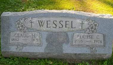 WESSEL, CLAUD H - Scott County, Iowa | CLAUD H WESSEL