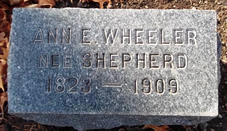 WHEELER, ANN E. - Scott County, Iowa | ANN E. WHEELER