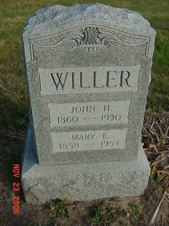WILLER, JOHN H - Scott County, Iowa | JOHN H WILLER