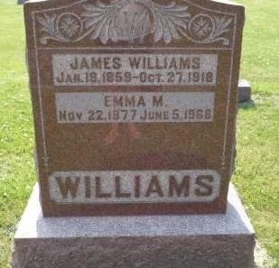 WILLIAMS, JAMES - Scott County, Iowa | JAMES WILLIAMS