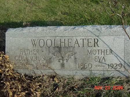 WOOLHEATER, EVA - Scott County, Iowa | EVA WOOLHEATER
