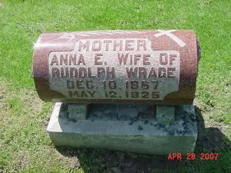 WRAGE, ANNA E - Scott County, Iowa | ANNA E WRAGE
