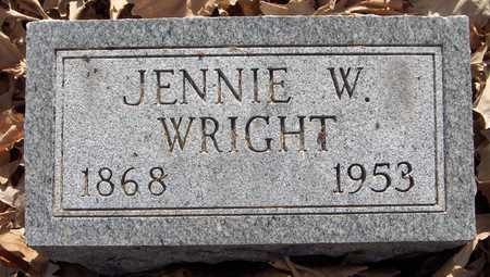WRIGHT, JENNIE - Scott County, Iowa | JENNIE WRIGHT
