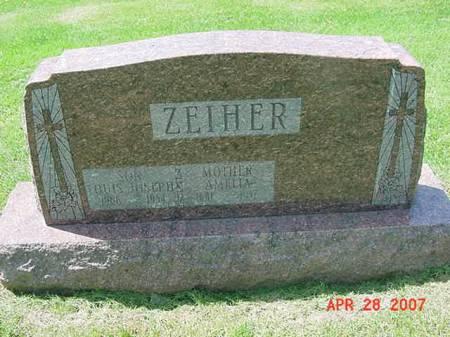ZEIHER, LOUIS JOSEPH - Scott County, Iowa | LOUIS JOSEPH ZEIHER