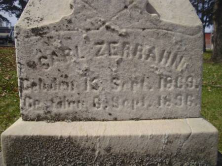 ZERRAHN, CARL - Scott County, Iowa | CARL ZERRAHN
