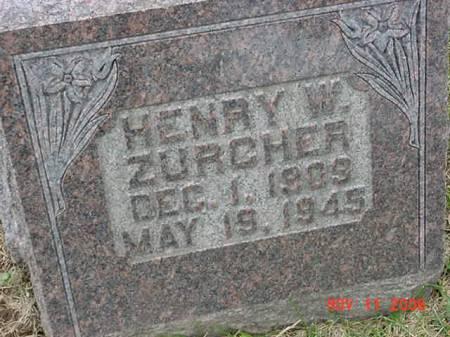 ZURCHER, HENRY W - Scott County, Iowa | HENRY W ZURCHER