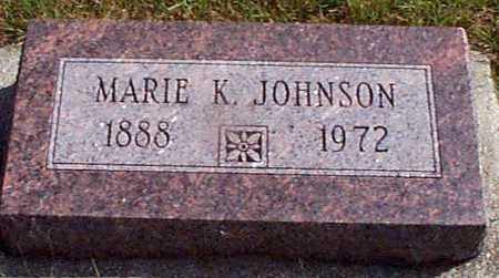 JOHNSON, MARIE K - Shelby County, Iowa | MARIE K JOHNSON