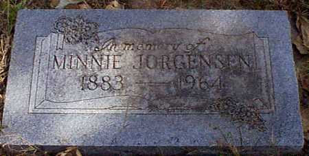 JORGENSEN, MINNIE - Shelby County, Iowa | MINNIE JORGENSEN