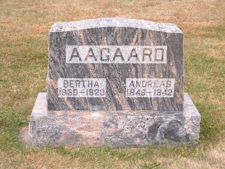 AAGAARD, BERTHA - Shelby County, Iowa | BERTHA AAGAARD
