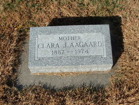 JAMES AAGAARD, CLARA - Shelby County, Iowa | CLARA JAMES AAGAARD