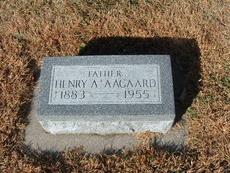 AAGAARD, HENRY - Shelby County, Iowa | HENRY AAGAARD