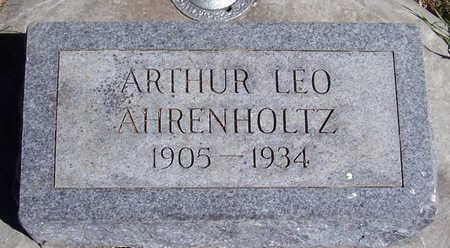AHRENHOLTZ, ARTHUR LEO - Shelby County, Iowa | ARTHUR LEO AHRENHOLTZ