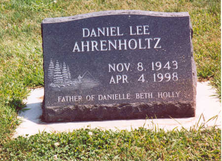 AHRENHOLTZ, DANIEL LEE - Shelby County, Iowa | DANIEL LEE AHRENHOLTZ