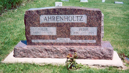 AHRENHOLTZ, PETER - Shelby County, Iowa | PETER AHRENHOLTZ