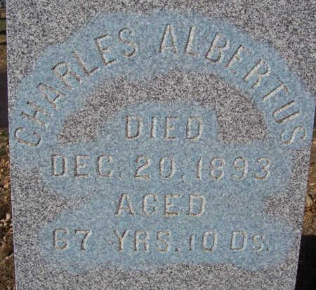 ALBERTUS, CHARLES (CLOSE-UP) - Shelby County, Iowa   CHARLES (CLOSE-UP) ALBERTUS