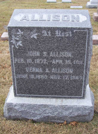 ALLISON, VERNA A. - Shelby County, Iowa | VERNA A. ALLISON