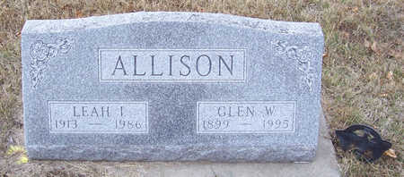 ALLISON, GLEN W. - Shelby County, Iowa | GLEN W. ALLISON