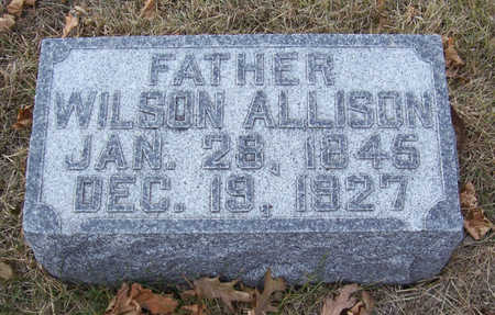 ALLISON, WILSON (FATHER) - Shelby County, Iowa | WILSON (FATHER) ALLISON