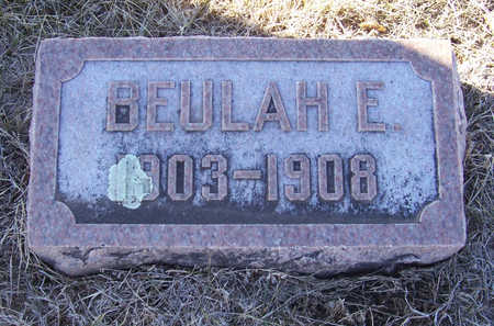 ALLOWAY, BEULAH E. - Shelby County, Iowa | BEULAH E. ALLOWAY