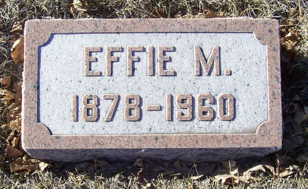 ALLOWAY, EFFIE M. - Shelby County, Iowa | EFFIE M. ALLOWAY