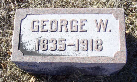 ALLOWAY, GEORGE W. - Shelby County, Iowa | GEORGE W. ALLOWAY