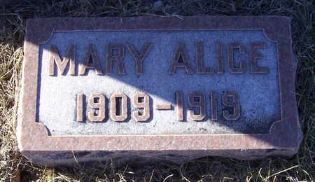 ALLOWAY, MARY ALICE - Shelby County, Iowa | MARY ALICE ALLOWAY