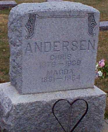 ANDERSEN, MAGDA - Shelby County, Iowa | MAGDA ANDERSEN