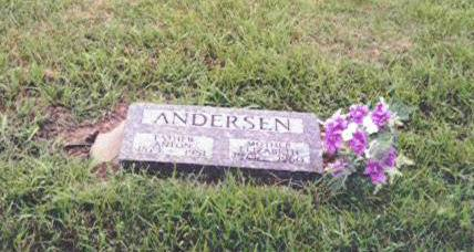 ANDERSEN, ANTON M. AND ELIZABETH J. - Shelby County, Iowa | ANTON M. AND ELIZABETH J. ANDERSEN