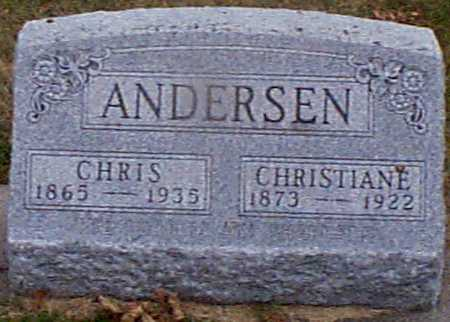 ANDERSEN, CHRISTIANE - Shelby County, Iowa | CHRISTIANE ANDERSEN
