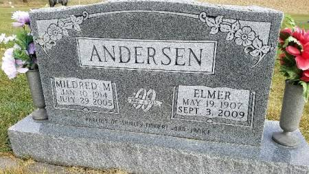 ANDERSEN, MILDRED M. - Shelby County, Iowa | MILDRED M. ANDERSEN