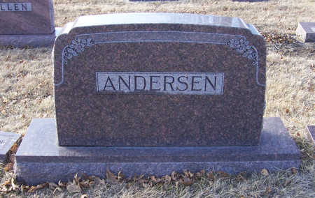 ANDERSEN, JOHN & NELLIE (LOT) - Shelby County, Iowa | JOHN & NELLIE (LOT) ANDERSEN