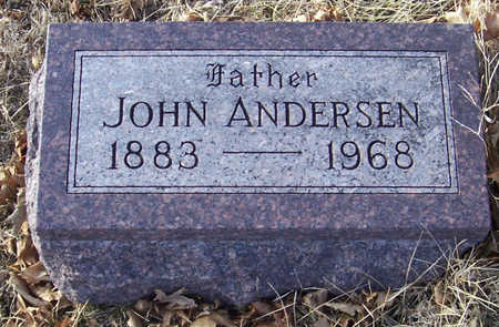 ANDERSEN, JOHN (FATHER) - Shelby County, Iowa | JOHN (FATHER) ANDERSEN
