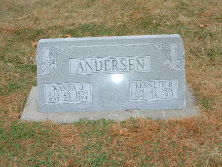 ANDERSEN, KENNETH B - Shelby County, Iowa | KENNETH B ANDERSEN